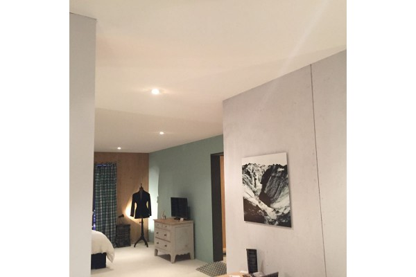 Mur et plafond tendu à froid