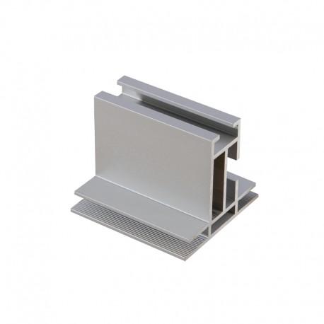 Profilé aluminium | TecoFrame 47 lisse