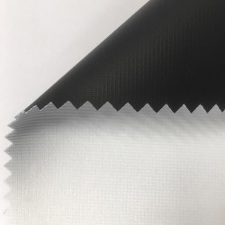 Toile dos noir BlackTex Zebra